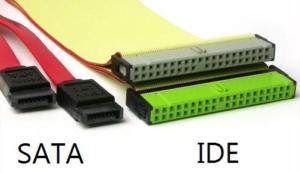 Кабель подключения SATA и IDE