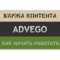 Как начать работать на бирже контента Адвего
