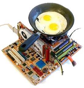 Замена термопасты осуществляется при перегревах процессора