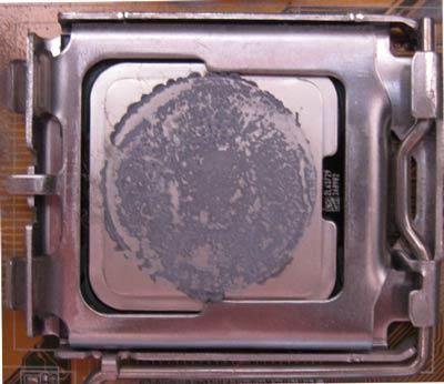 Чем стереть старую термопасту с процессора