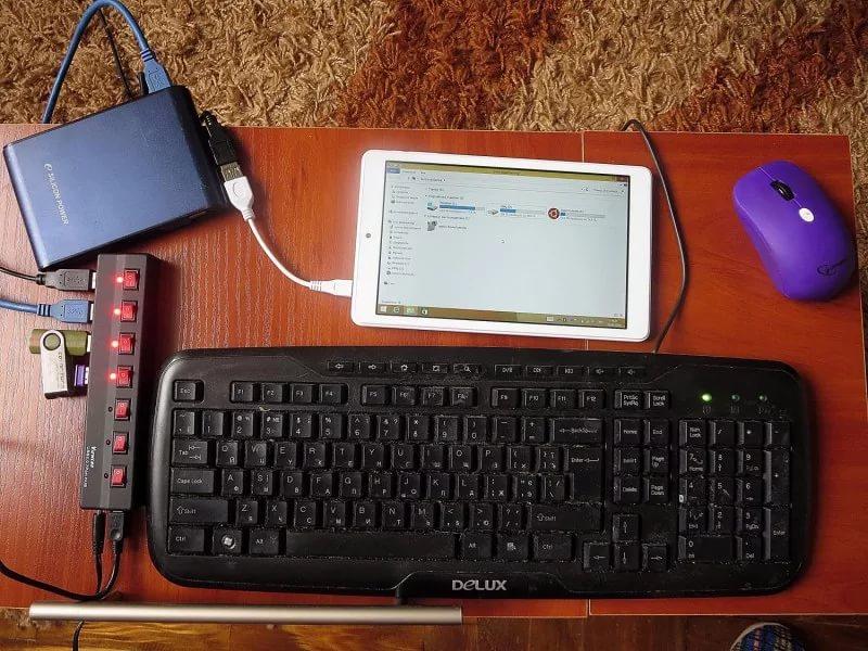 OTG кабель и технология On The Go