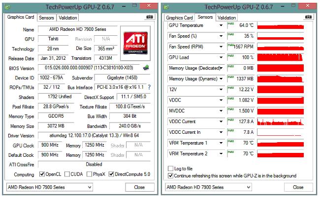 Как разогнать видеокарту  - заводские настроки через GPU-Z