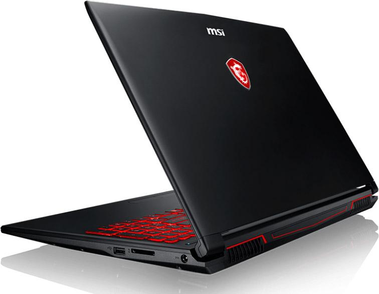 Мощный игровой ноутбук MSI GL62M