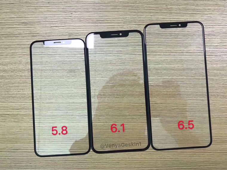 Новые модели iPhone 2018