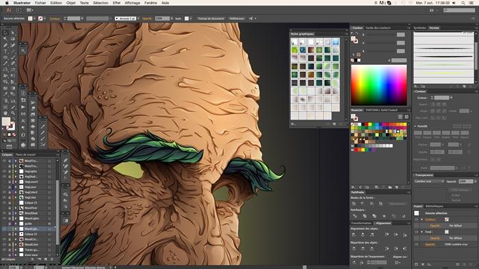 редактор веторной графики adobe illustrator