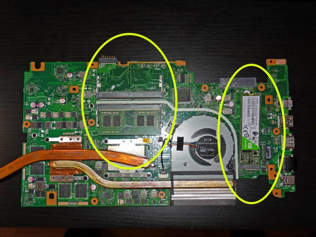 Разборка ноутбука Asus Vivobook Pro N705UD