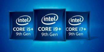 процессоры intel core i9-9900K, i7-9700K, i5-9600K