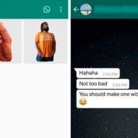 стикер из фото в WhatsApp