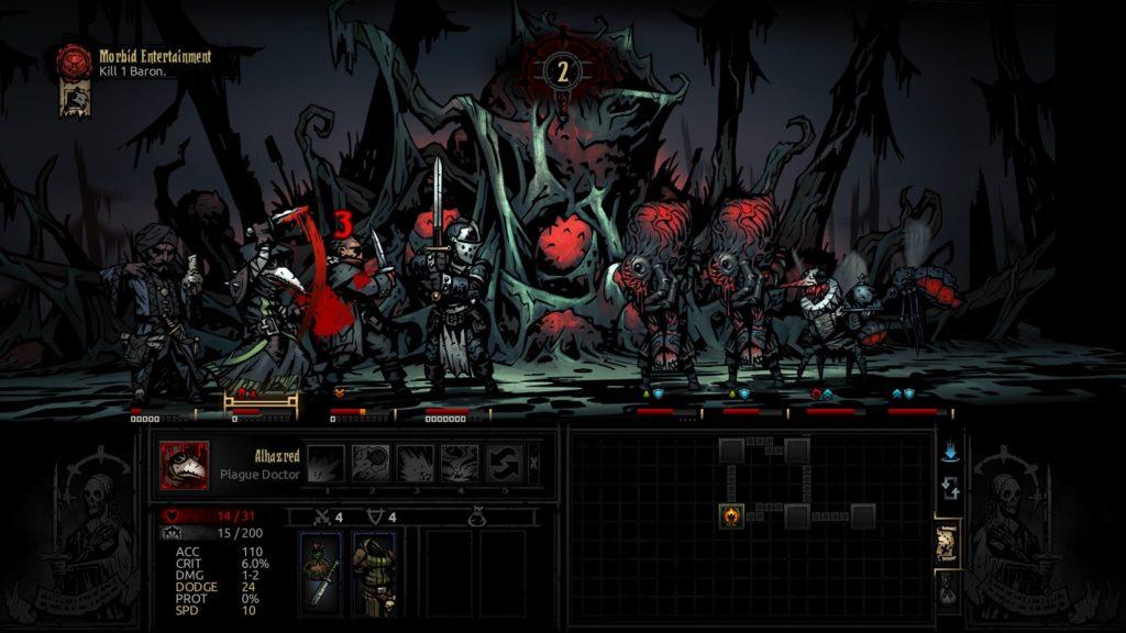 топ 10 РПГ игр на ПК - Darkest Dungeon