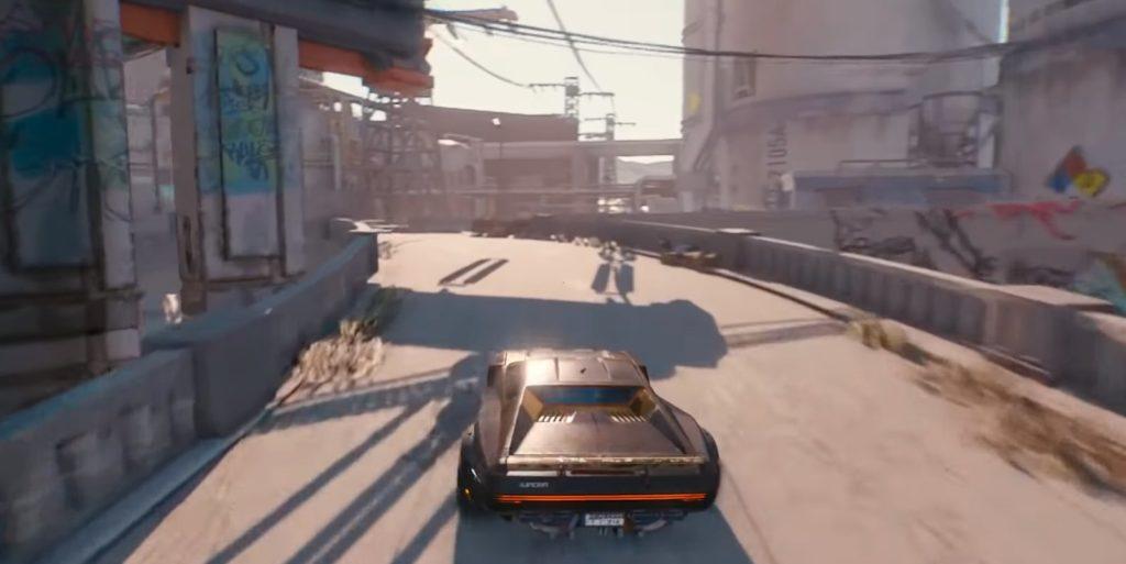 Cyberpunk 2077 cars and transport