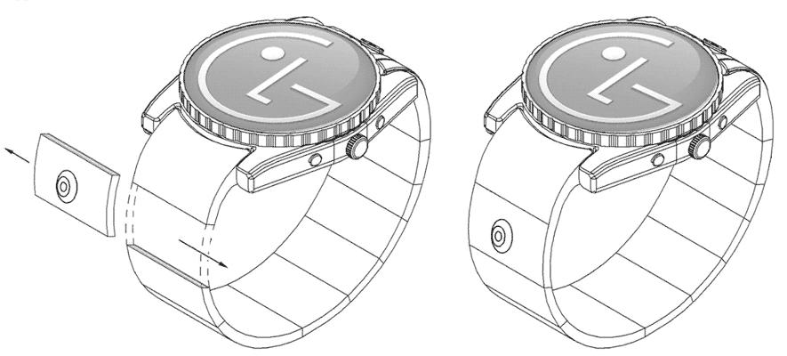 умные часы с цифровой камерой от LG