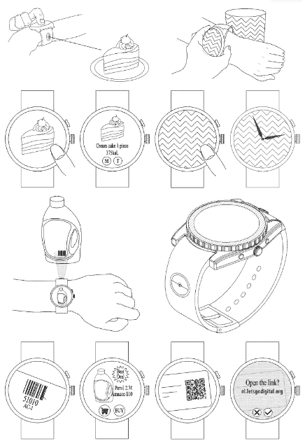 smartwatch with camera LG