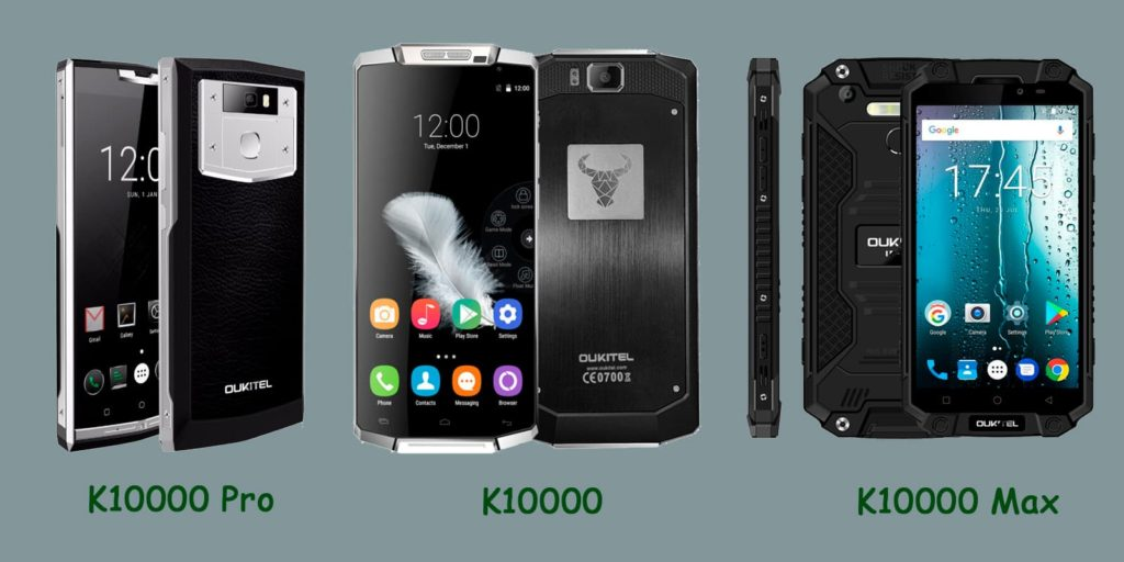 обзор смартфона Oukitel k10000 pro max