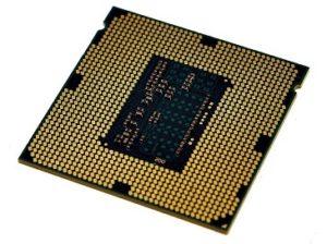Процессор (вид снизу)