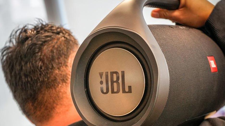 Портативная блютуз колонка JBL Boombox