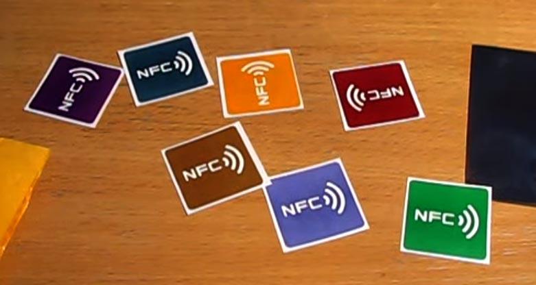 NFC в смартфоне - NFC метки