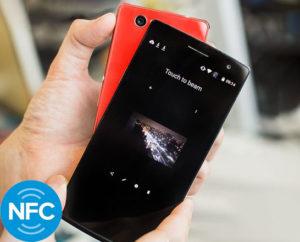 NFC в смартфоне - как передать файл