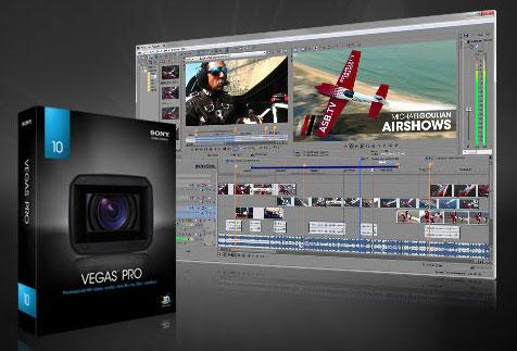 Лучшие программы для монтажа видео - Sony Vegas
