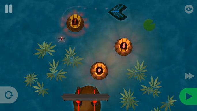 Лучшие логические игры на андроид - Ashi: Lake of Light