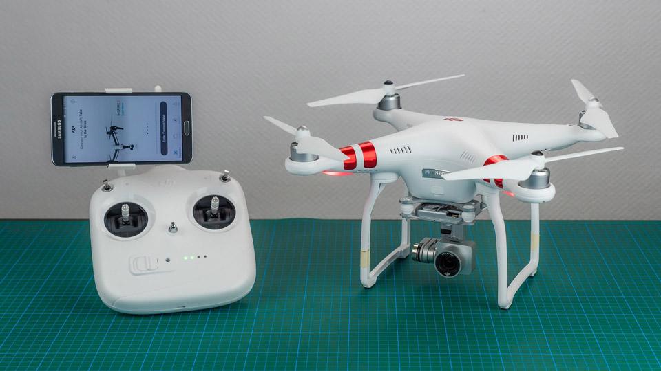 Как выбрать квадрокоптер с хорошей камерой - DJI Phantom 3