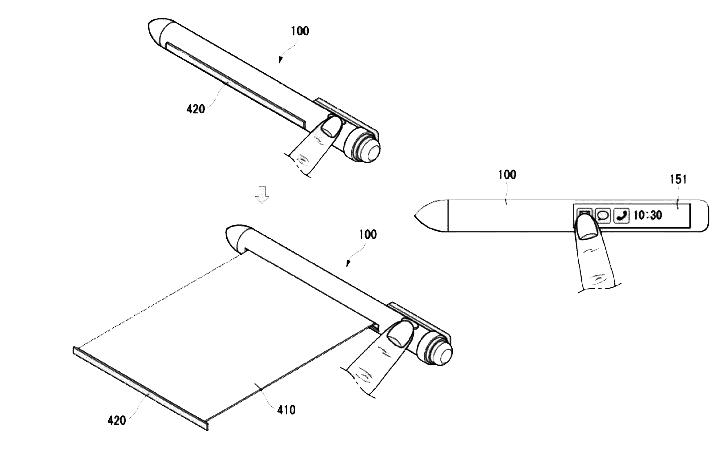 Смарт ручка LG
