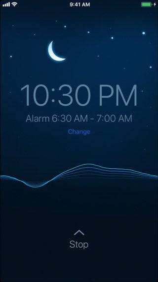 полезное приложение на айфон - Sleep Cycle alarm clock
