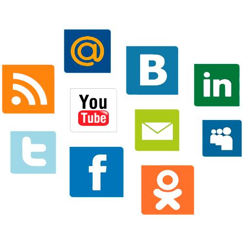самые популярные социальные сети в мире и в России