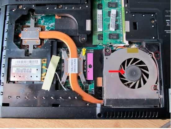 как почистить систему охлаждения ноутбука от пыли