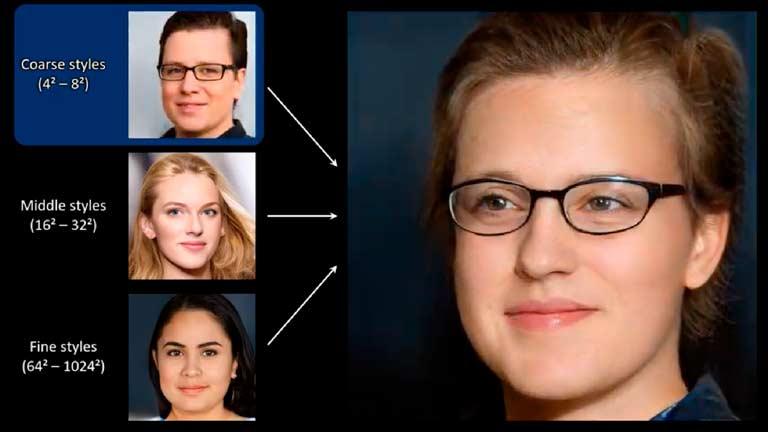 ИИ NVIDIA умеет создавать лица