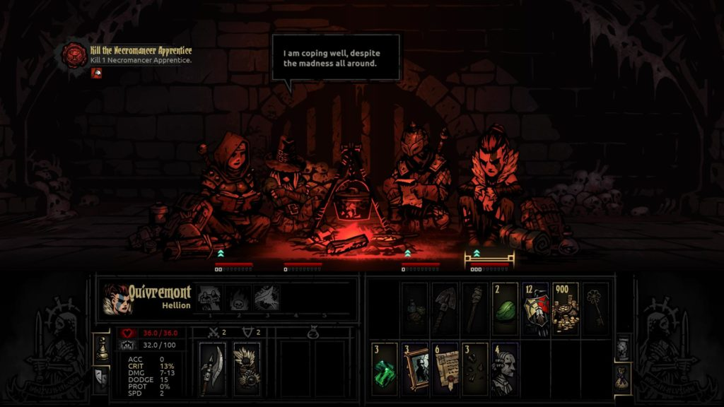 топ 10 РПГ игр на ПК - Darkest Dungeon