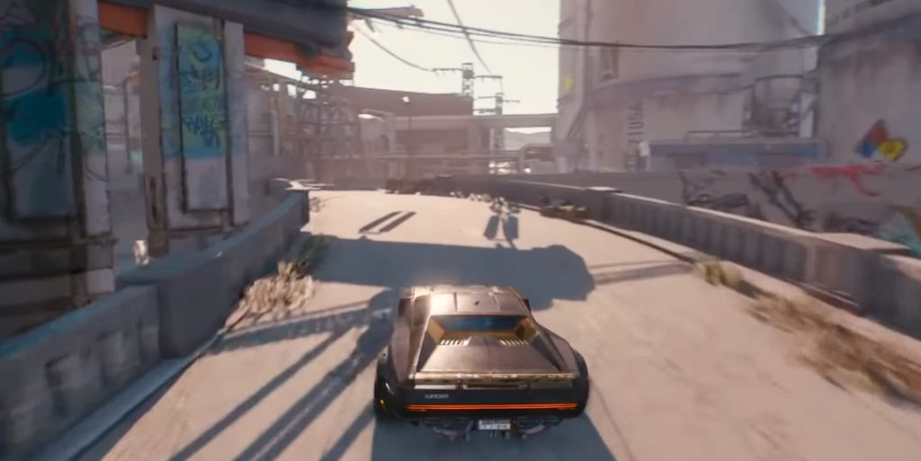 Cyberpunk 2077 cars and transport