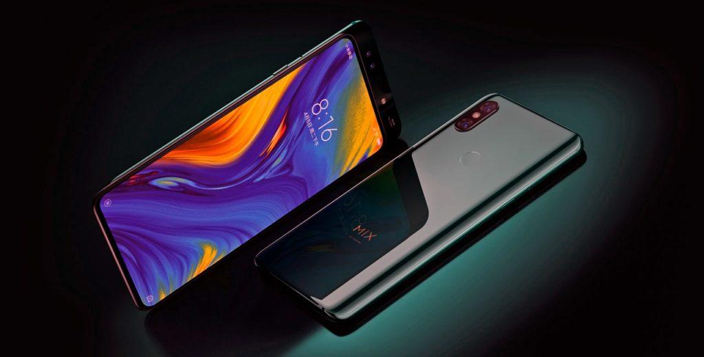 лучший андроид смартфон с двойной камерой - Xiaomi Mi Mix 3