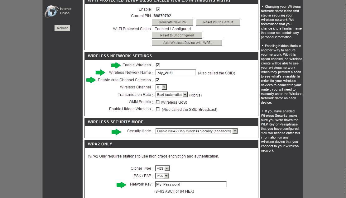 как настроить wi-fi роутер D-Link dir-300