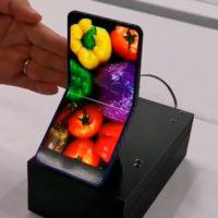прототип сгибающегося смартфона sharp