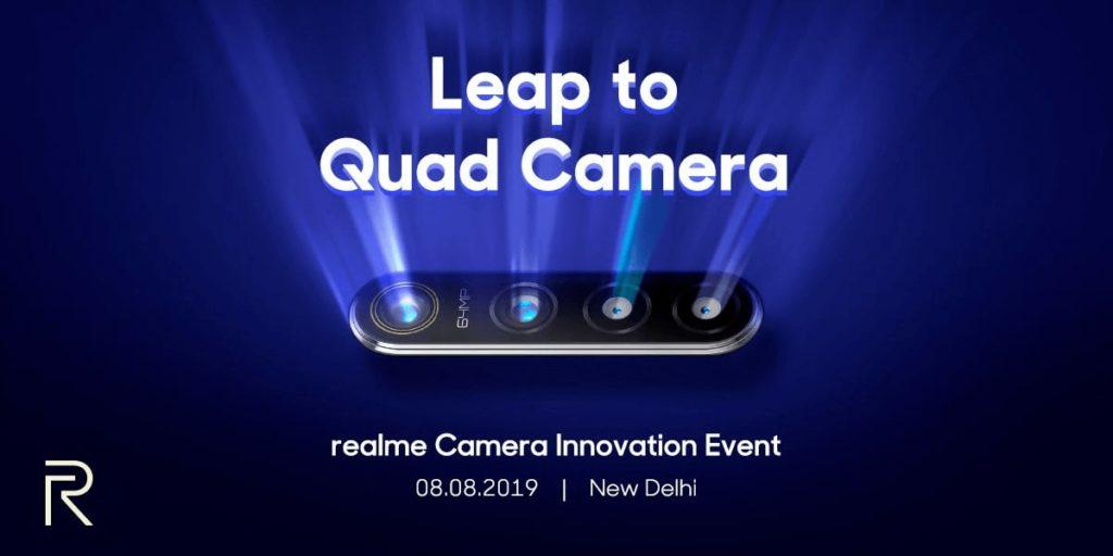 смартфон с камерой 64 мп Realme