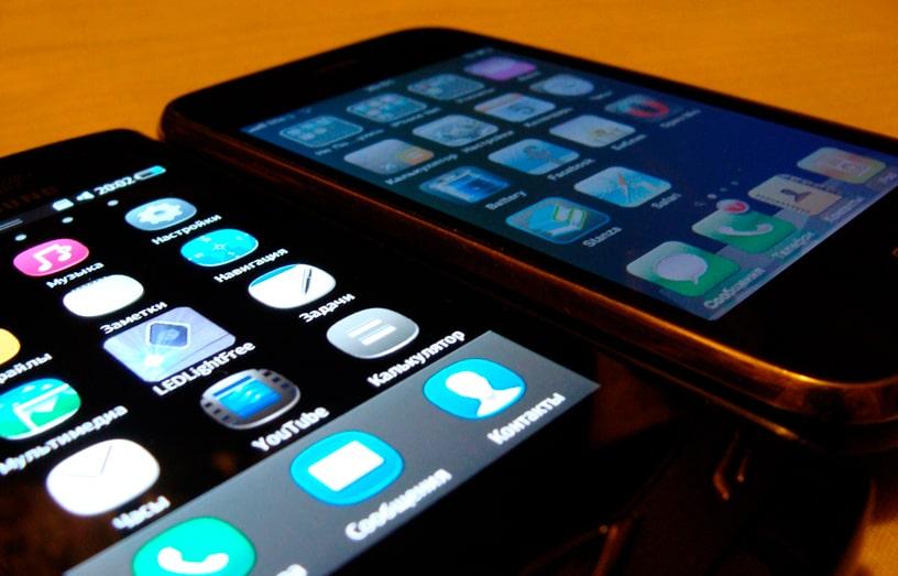 смартфон разряжается не так быстро, если у него super amoled дисплей