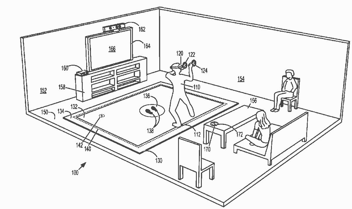 коврик для виртуальной реальности Microsoft
