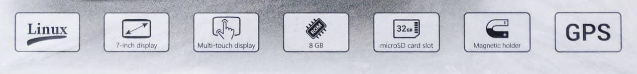 характеристики навигатора navitel e707 magnetic