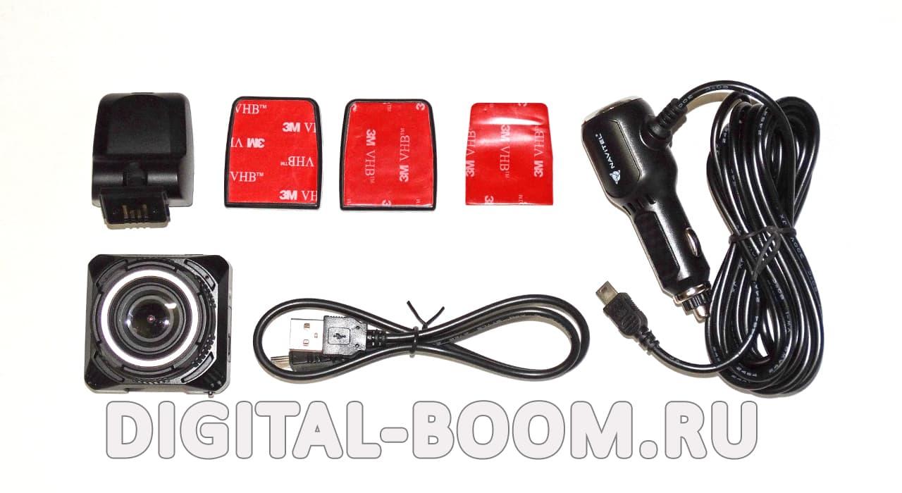 комплектация регистратора видеорегистратора Navitel DVR R600 QuadHD