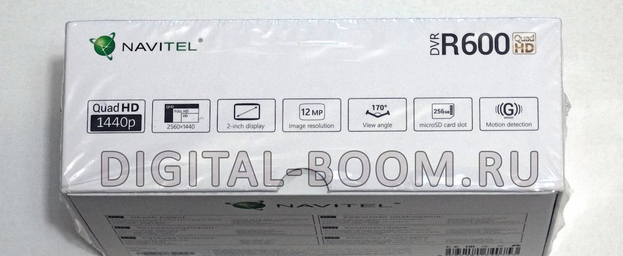 технические характеристики Navitel DVR R600 QuadHD
