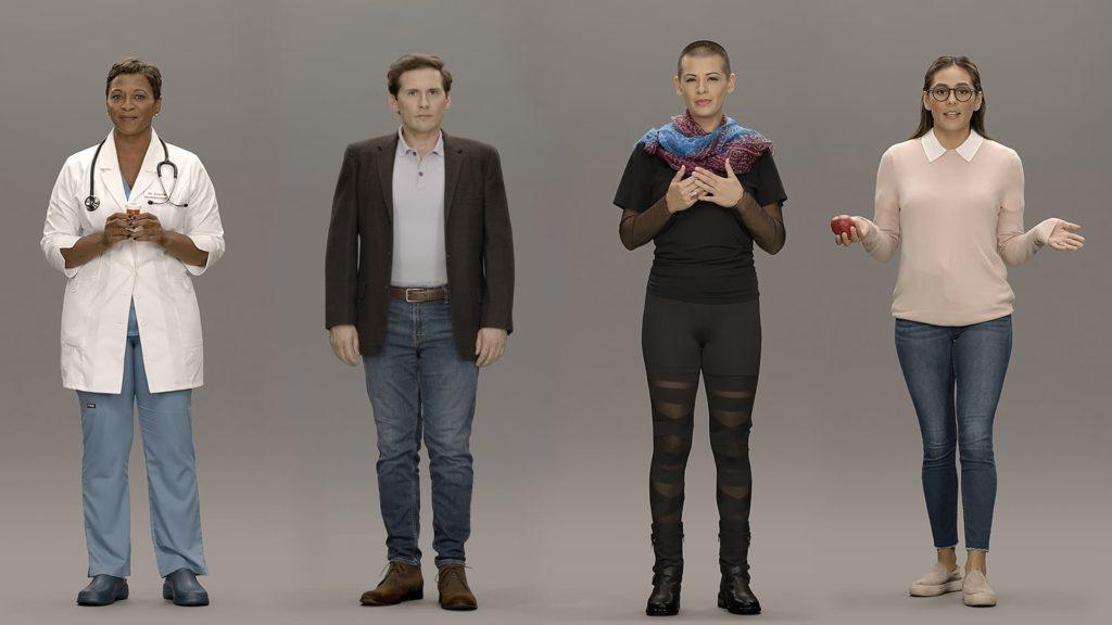 искусственные люди Neon от Samsung