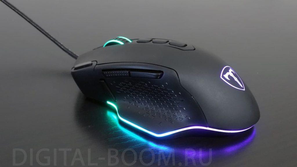подсветка геймерской мыши pictek pc257A