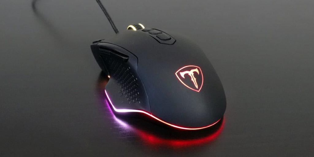 подсветка игровой мыши PICTEK