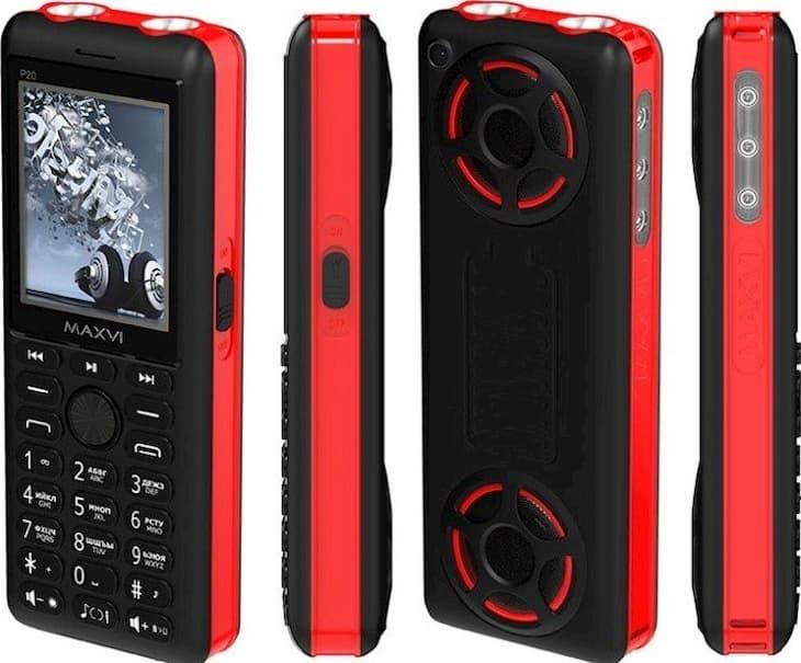 Лучший кнопочный телефон с хорошей батареей MAXVI P20