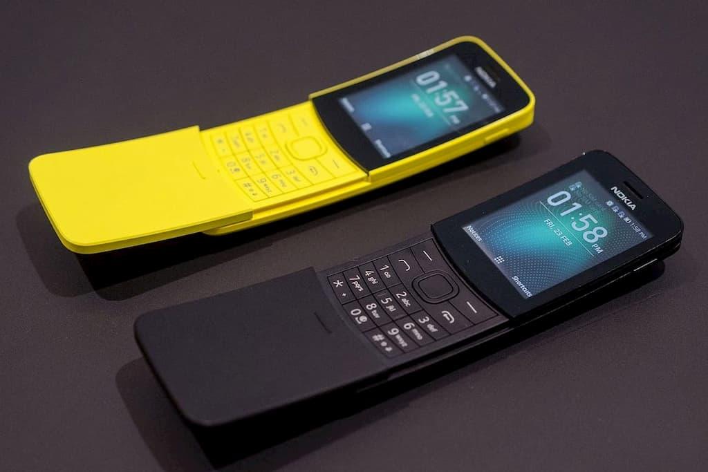 лучший кнопочный телефон 2020 Nokia 8110 4G