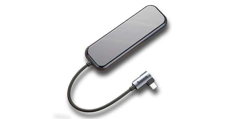 обзор USB hub Baseus