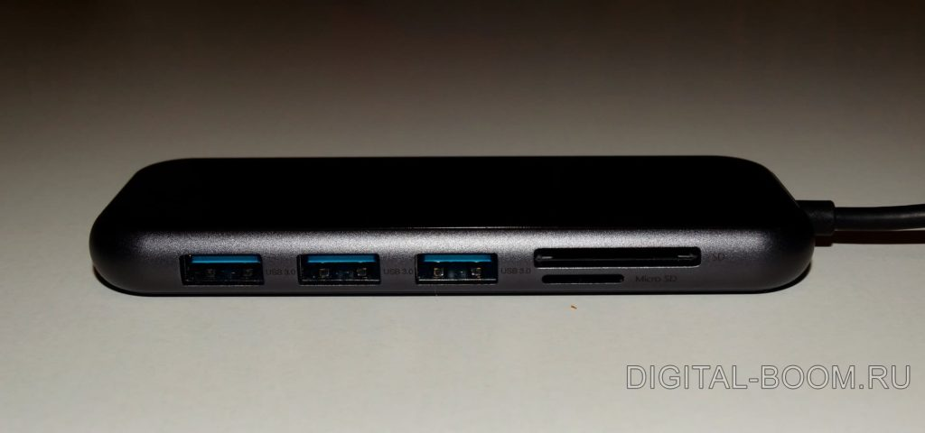 обзор USB хаба baseus
