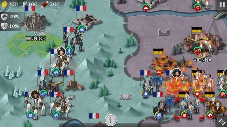 Стратегия исторических войн на Android