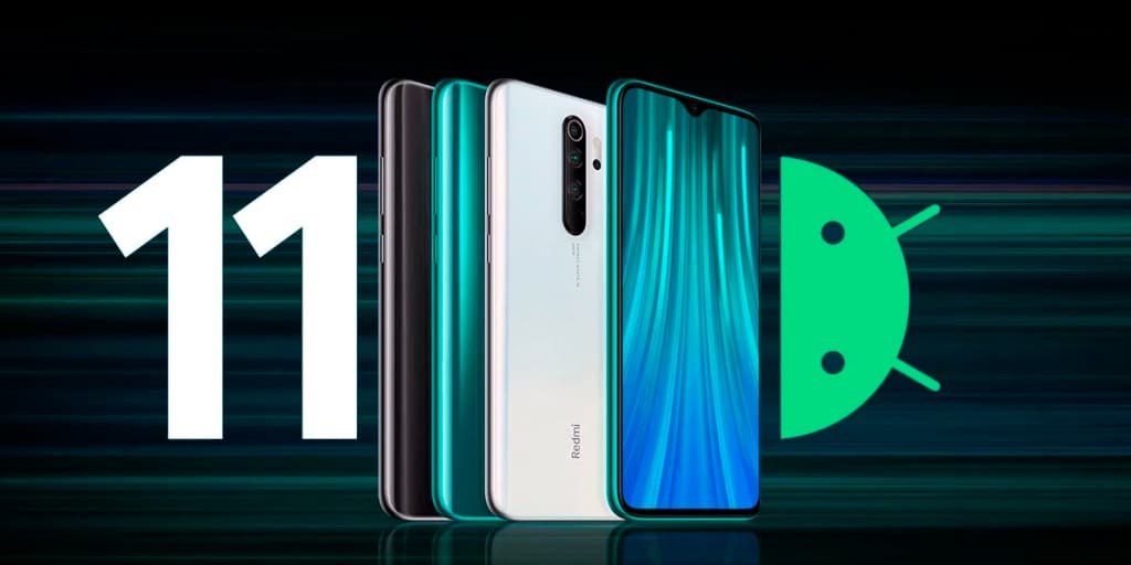 redmi note 8 pro обновится до Android 11
